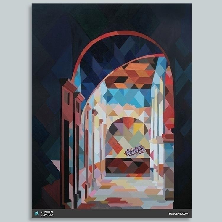 Oil painting. Augmented reality - yunuene   ello