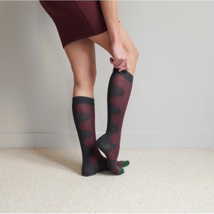 Night Bicolored shop online - socks - canonblanc | ello