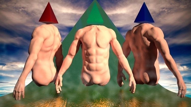 Humans - 3D, Render - daniuxhg | ello