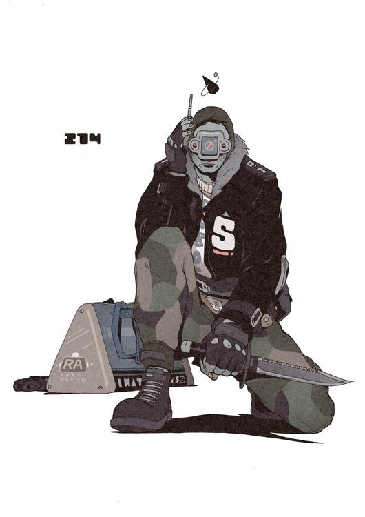 Day 274/365: Robot Army Recruit - 1sles   ello