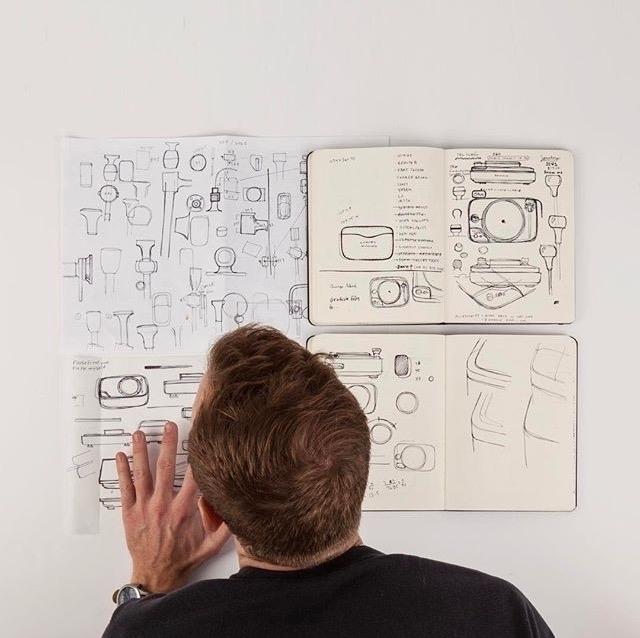Documenting process. Designer D - letsdesigndaily | ello