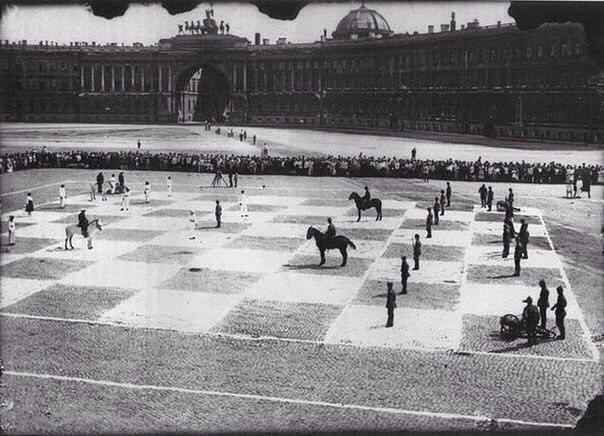Шахматная партия 1924 года на Д - krymov | ello