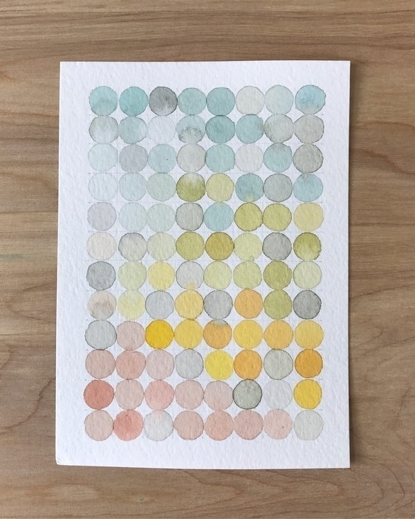 favorite palette - watercolor, painting - matt_shurtleff | ello