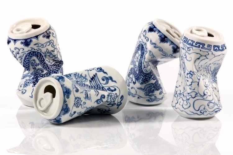 Smashed Ceramic Lei Xue - art, ceramic - creativegazette | ello