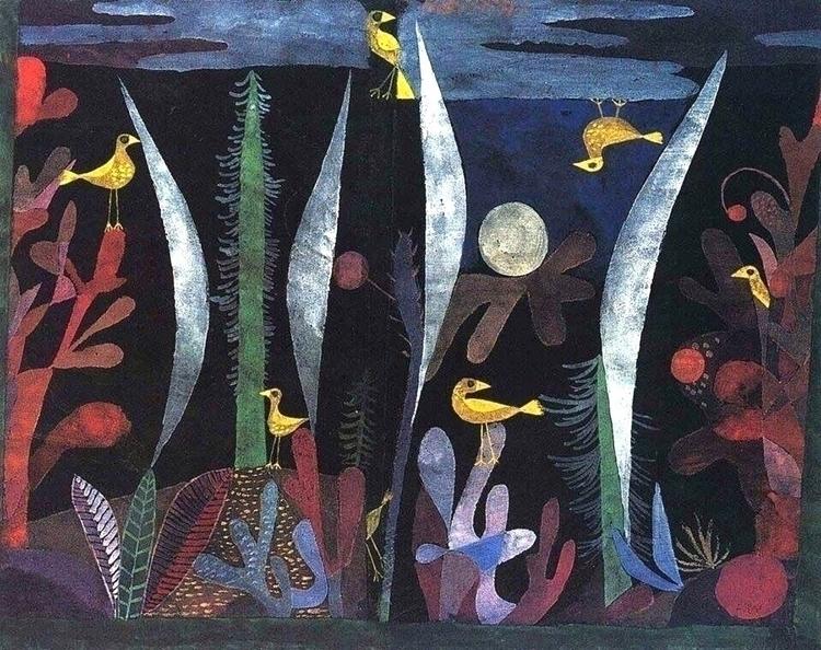 Paul - 1923 - Klee, Landscape, yellow - bauhaus-movement | ello