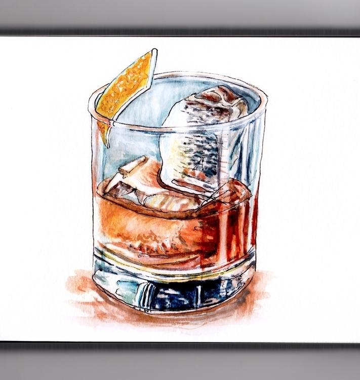 Rocks - watercolor, watercolour - doodlewash | ello