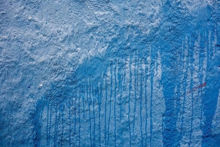 blue blood - abstract, color, drip - chrishuddleston | ello
