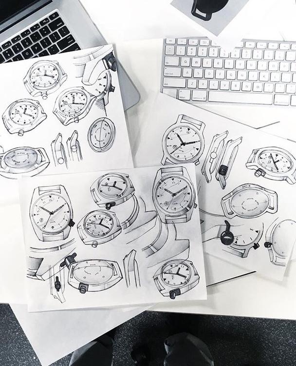 minus8watch sketches designer D - letsdesigndaily   ello