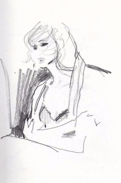 fast sketch 2015 - illustration - michellepam | ello