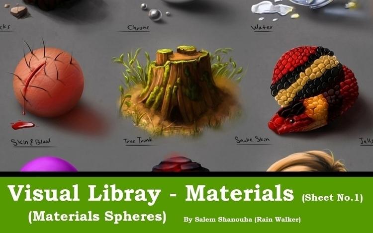 Visual Library Series - Materia - rain_walker | ello