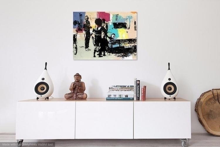 cool work room. piece inspired  - dfainelli   ello