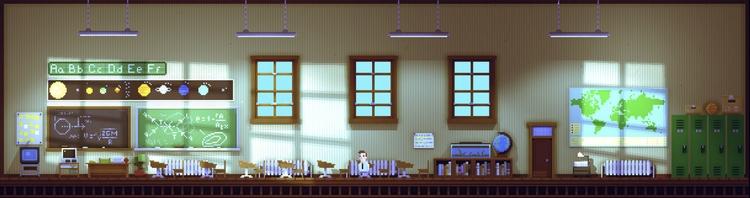 pixelart, gamedev, intheshadows - 6502b | ello