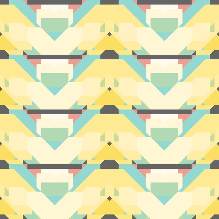 pattern created Matrices iOS. a - hyperglu | ello