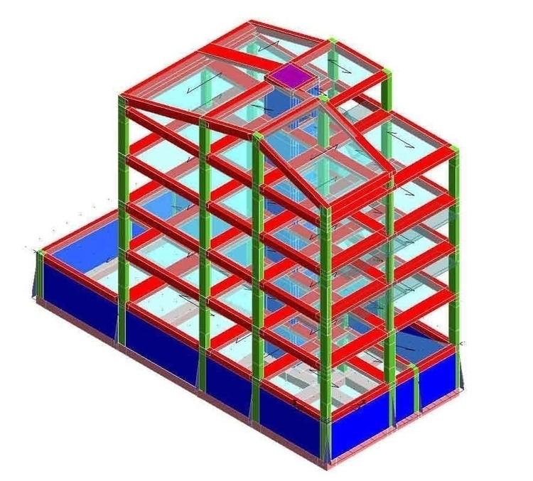 Calcolo strutture cemento armat - calcoli | ello