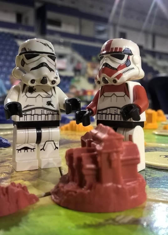 Stormtrooper: destroy city? Yes - chogall   ello