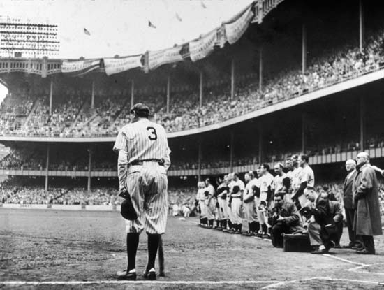 Babe Ruth Yankee Stadium 13 Jun - peligropictures | ello