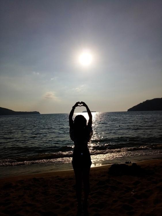 love sunset. SandBar Beach Nasu - rheaiyah | ello