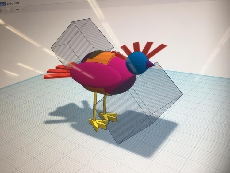 hideous bird ft. tinkercad - wift - tatyanakornilova | ello