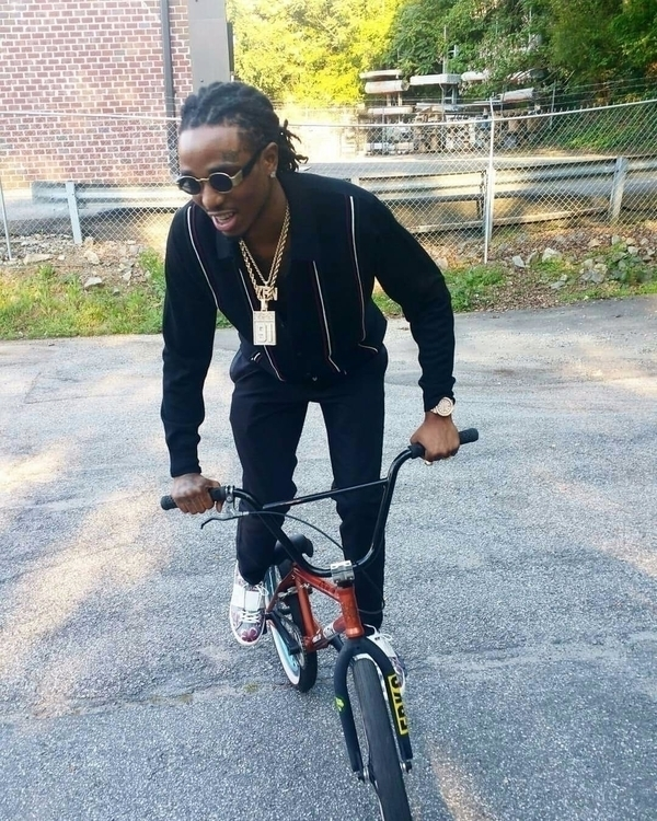 Quavo Migos bike. Bad Boujee - chillyolovesyou | ello
