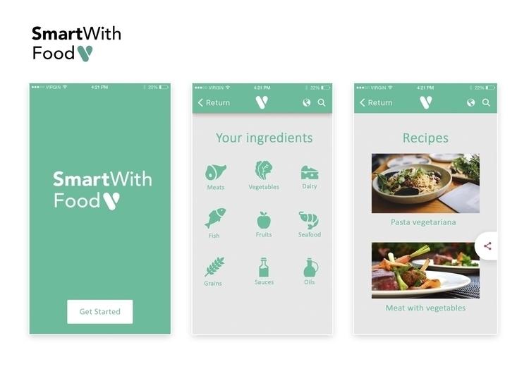SmartWithFood design idea //app - ranaatasatan | ello
