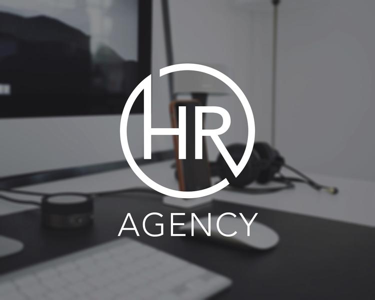 HR // Logo design - branding, graphicdesign - ranaatasatan | ello