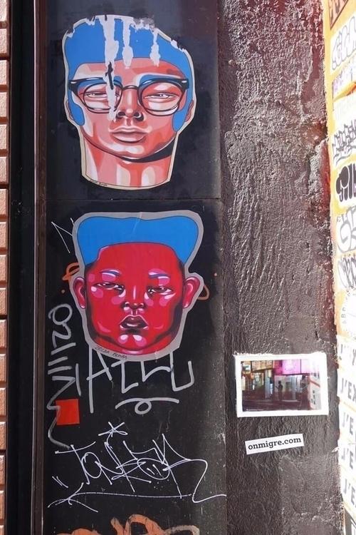 Street art collage, Paris 10, C - zeldabomba | ello