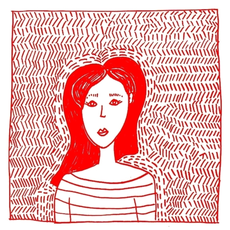 Red - illustration, art, drawing - nigli | ello