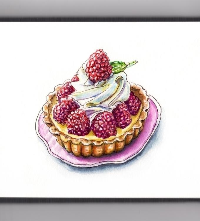 LOVE CUSTARD - watercolor, watercolour - doodlewash | ello