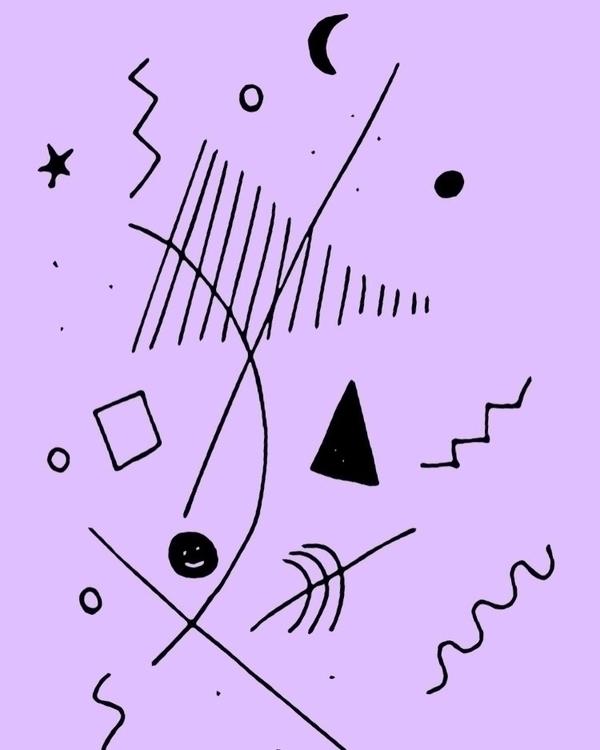 Scratching head - doodle, illustration - dsmoore | ello