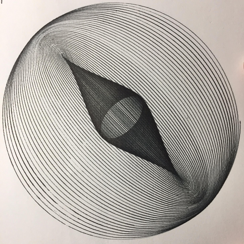 Harmonograph output plotter - ren0h   ello