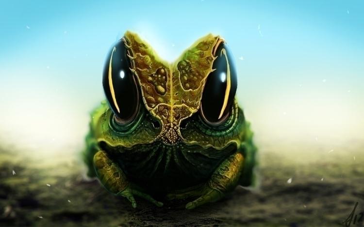 creature practice, Eyeballer to - grootkind | ello