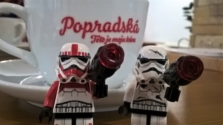 touch - coffee., coffeetime, stormtrooper - chogall   ello