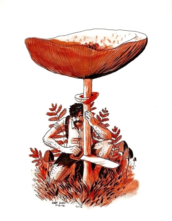 Harvesting - art, drawing, illustration - mattschu   ello