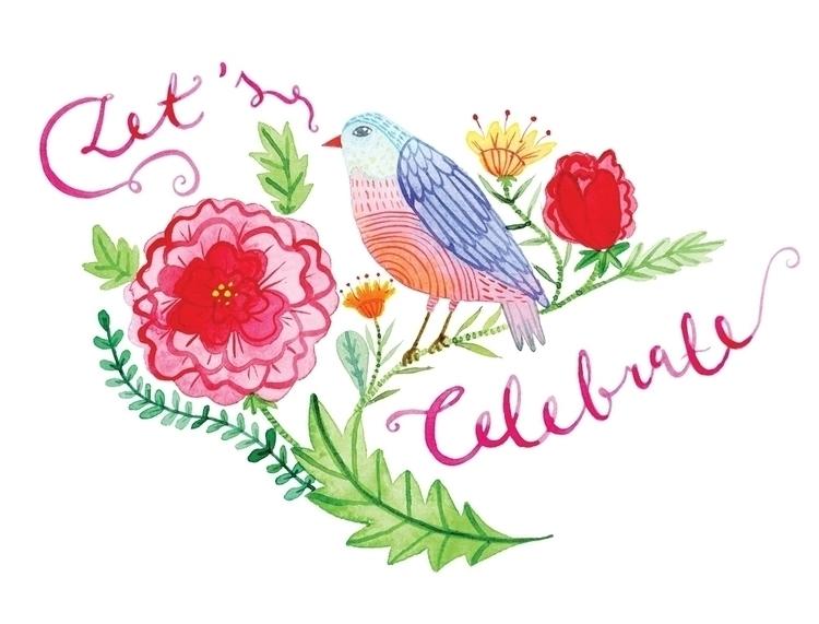 Spring Birds postcards - klikaboutique:rose::hibiscus::tulip::cherry_blossom:#klikadesign - klikadesign | ello
