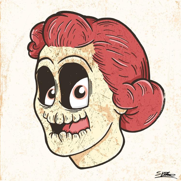Skullhead samuelbthorne.com Ins - samuelbthorne | ello