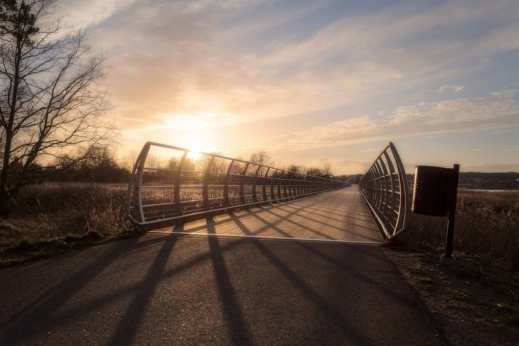 love bridges fond sunsets visit - ludwigsormlind | ello