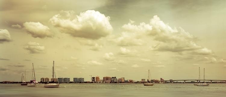 Cityscape Panorama Sarasota Bay - rickschwartz | ello