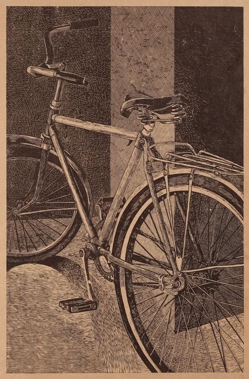 Olesya Dzhurayeva, bike, 2011,  - n2ngallery_uae   ello