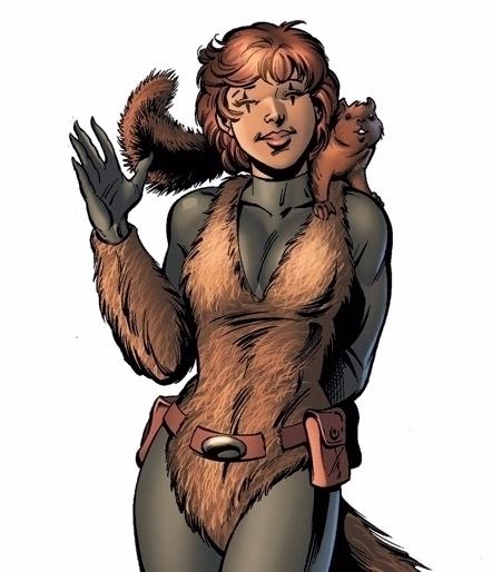 Warriors bringing Squirrel Girl - bonniegrrl | ello