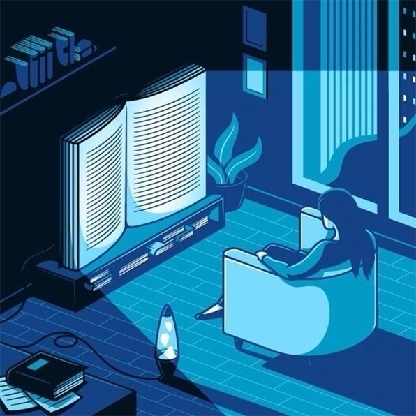 kind TV. Illustration Elia Colo - kseniaanske | ello