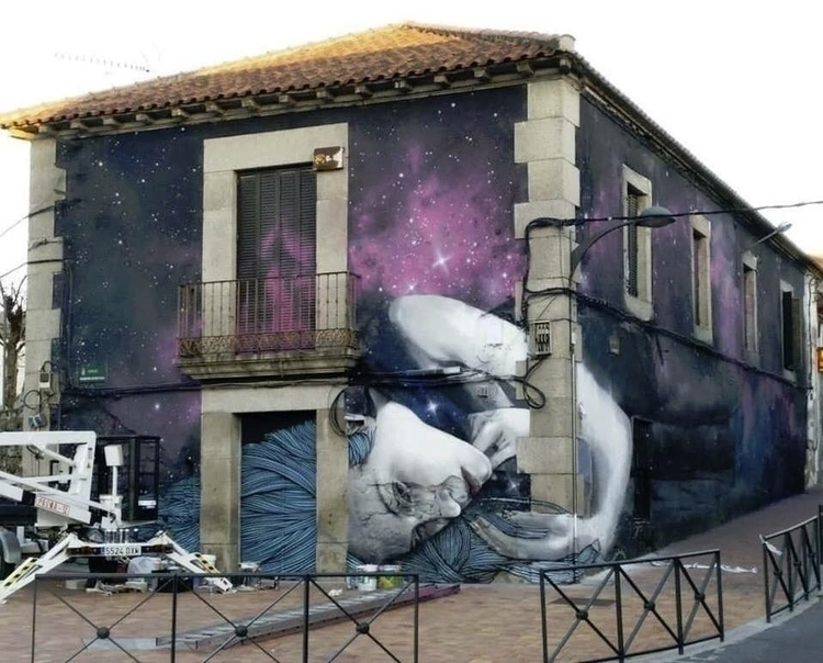 Artist: Sfhir Location: Madrid - streetartunitedstates   ello