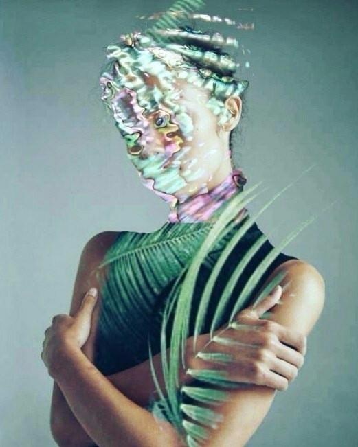 IamNOT - collage, digitalart - pourpose | ello