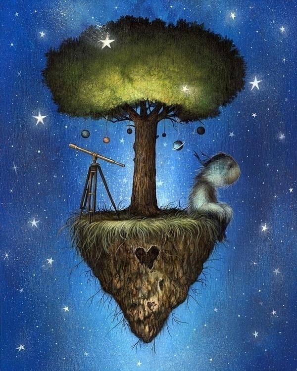'Cosmic Dreamer' Dan - danmay, art - wowxwow | ello