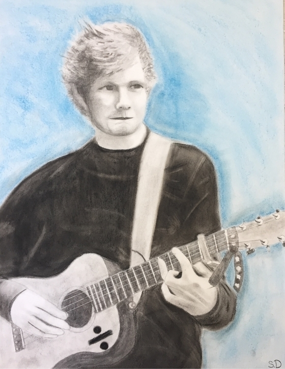 Ed Sheeran :hearts:️ - stxllart | ello