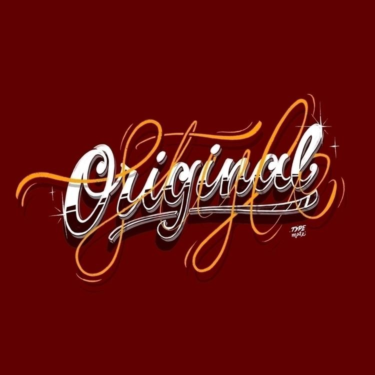 Original style! Step step lette - typemate | ello