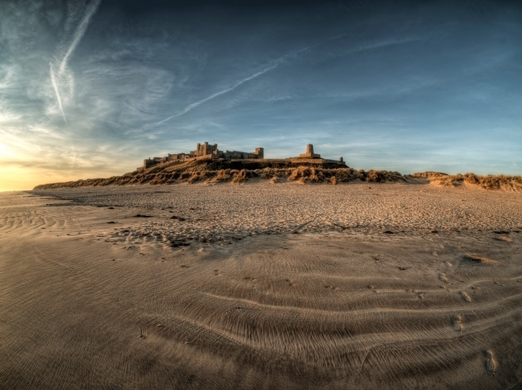 Bamburgh Castle - Northumbria D - neilhoward | ello