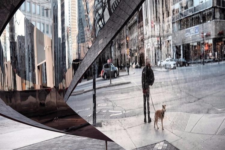 Broken mirror - street, streetphotography - maximemartin | ello