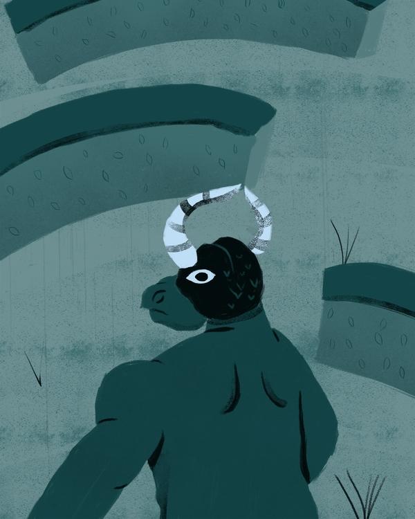 Minotaur: Mutant son Pasiphae.  - erickmramos | ello