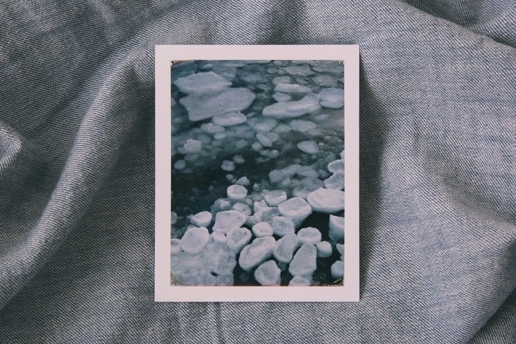 Arctic Ice - February 2017 - polaroid - peterjschweitzer | ello