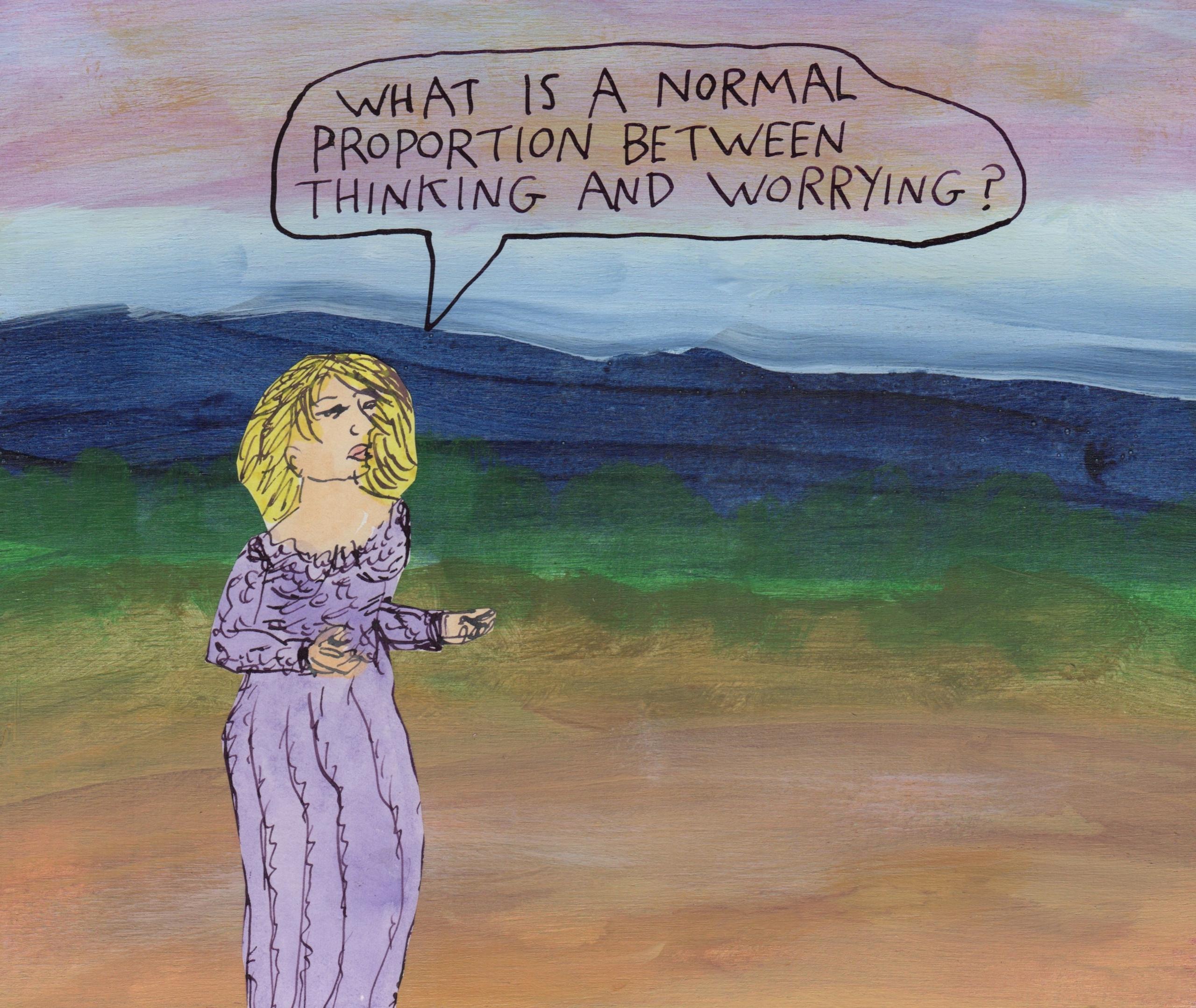 Thinking worrying - thinking - stoicmike | ello